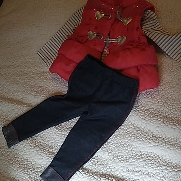Cute Baby Girl 12 M Outfit